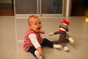 Don't like the sock monkey
